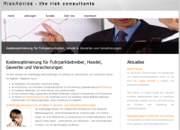 riskadvise.com Screenshot