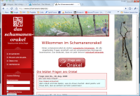 schamanenorakel.de Screenshot
